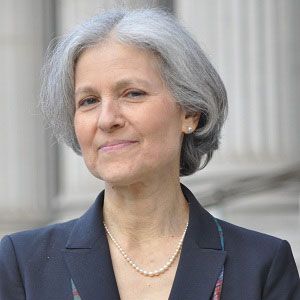 Dr. Jill Stein, Green Party Candidate for President