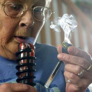 grandma marijuana senior seniors cannabis grandpa